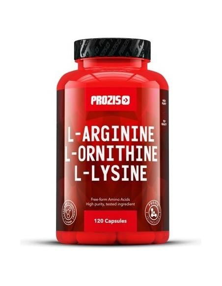 L-Arginine L-Ornithine L-Lysine 120 caps