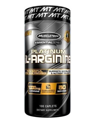 Platinum 100% L-arginine 100caps - 50serv