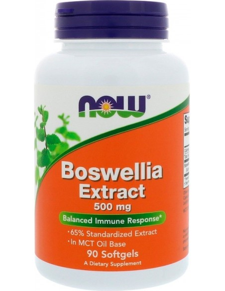 Now Foods, Boswellia Extract, 500 mg, 90 Softgels
