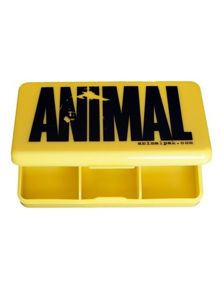 Universal Animal Yellow Pill Box Case
