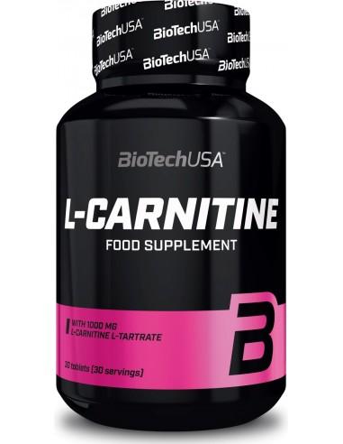 L-Carnitine 1000mg - 30 tablets