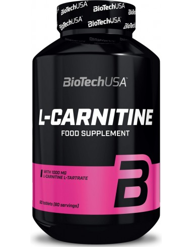 L-Carnitine 1000mg - 60 tablets