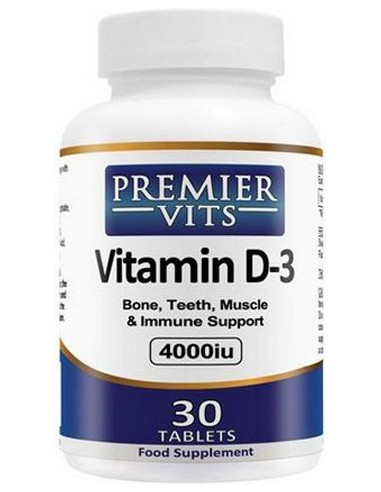 Premier Vits - Vitamin D3 4000iu - 180tab