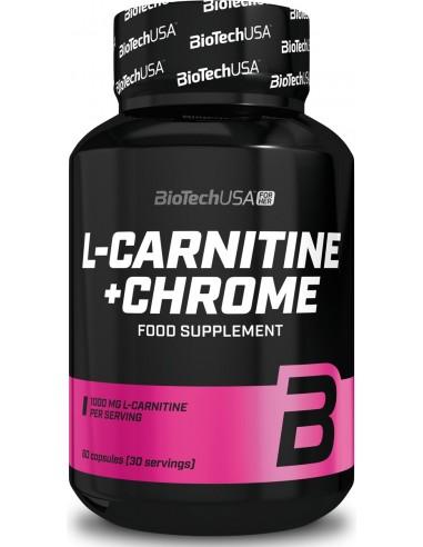 L-Carnitine + CHROME - 60caps