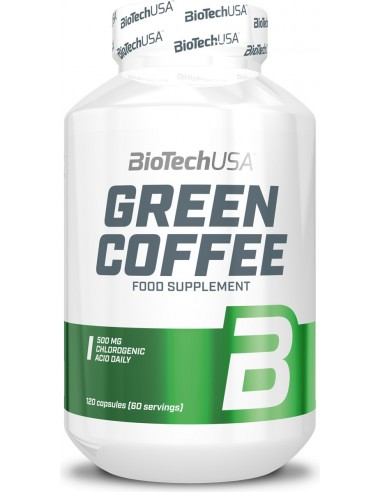 Green Coffee Extract 120kps - Rohelise kohvioa ekstrakt