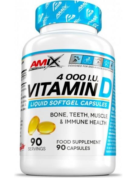 Vitamin D3 4.000 I.U. - 90softgels