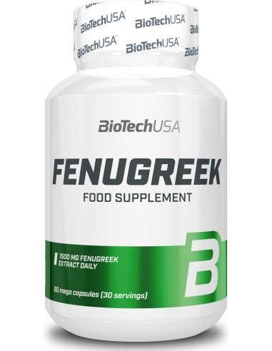 Fenugreek 60 caps - BiotechUSA