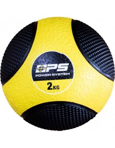 Power System Medicine Ball 2kg / Põrkav kummist topispall