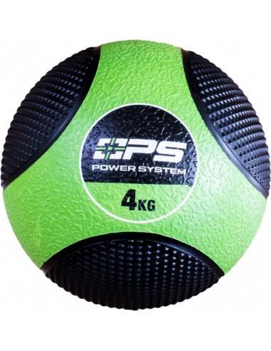 Power System Medicine Ball 4kg / Põrkav kummist topispall