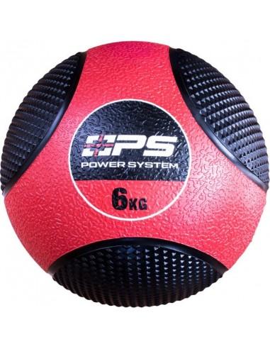 Power System Medicine Ball 6kg / Põrkav kummist topispall