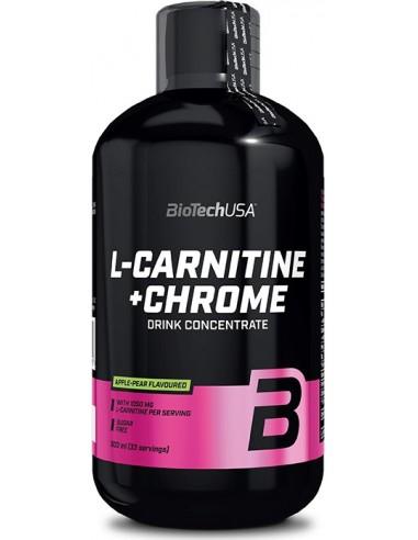 L-Carnitine Liquid + Chrome