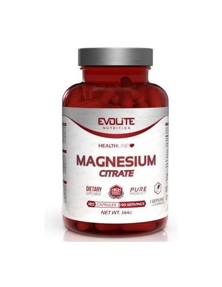Evolite Magnesium Citrate 180 caps - 90serv