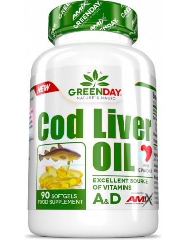 GreenDay® God Liver Oil - 90 softgels