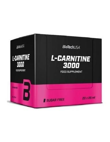 L-Carnitine Amp 3000mg 20x25ml