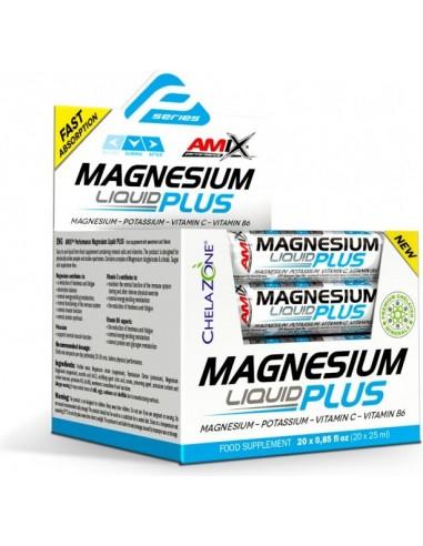 Magnesium Liquid+ 20x25ml
