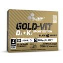 Gold Vit D3 (2000iu) + K2 Sport Edition - 60 caps