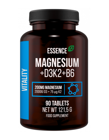Essence Magnesium D3K2 + B6 tabletid...