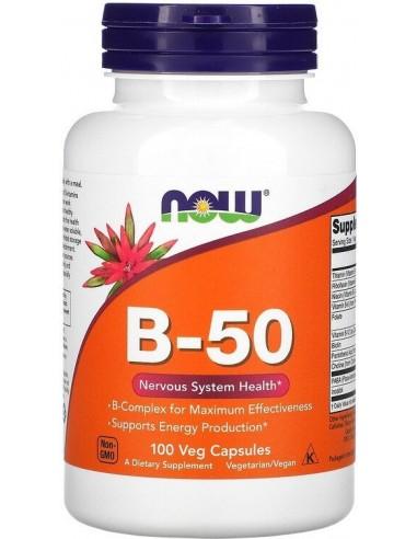 NOW Foods - Vitamin B-50 100 caps
