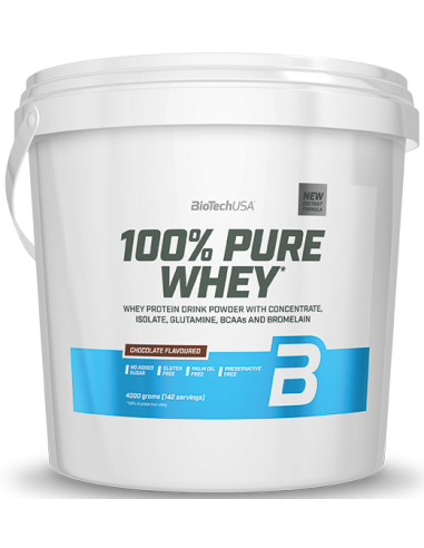 100% PURE WHEY 4000g