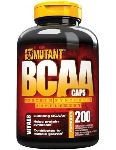 Mutant - BCAA 200 kapslit