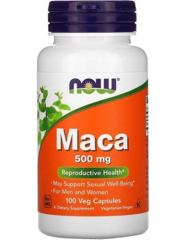 Now Foods, Maca, 500 mg, 100 Veggie Capsules