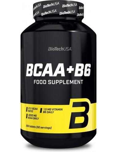 BCAA+B6 - 200 tablets