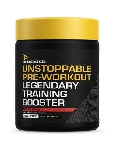 Dedicated The Unstoppable Pre-Workout...