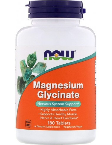 Magnesium Glycinate, 180 Tablets