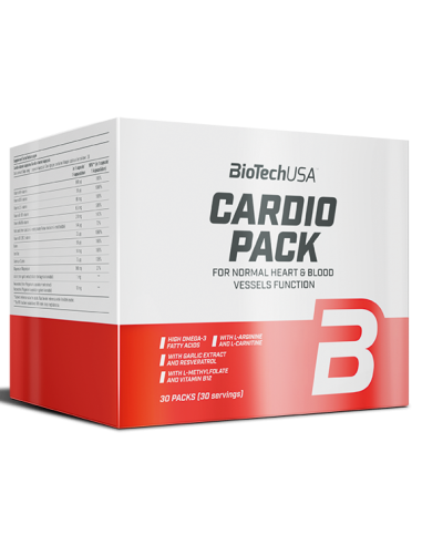 Cardio Pack 30pack