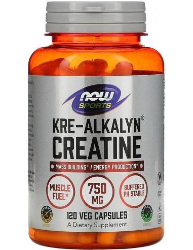Now Foods, Kre-Alkalyn Creatine, 120 kapslit