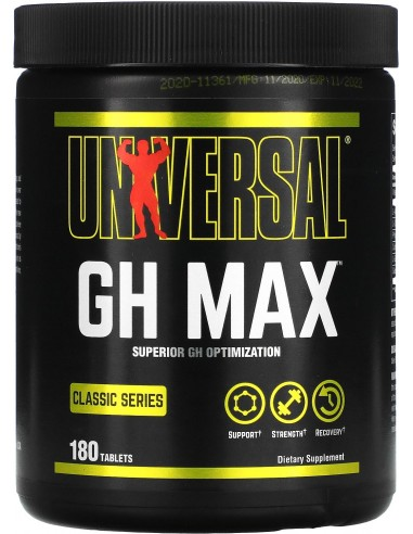Universal, GH Max, 180 tablets