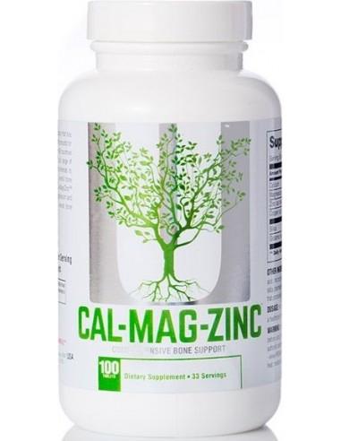 Universal, Calcium Zinc Magnesium, 100 tablets