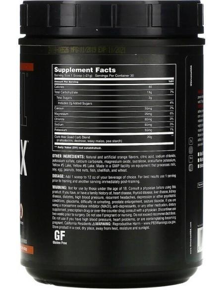 Universal, CARB MAX, Replenish Glycogen & Electrolytes, 632g